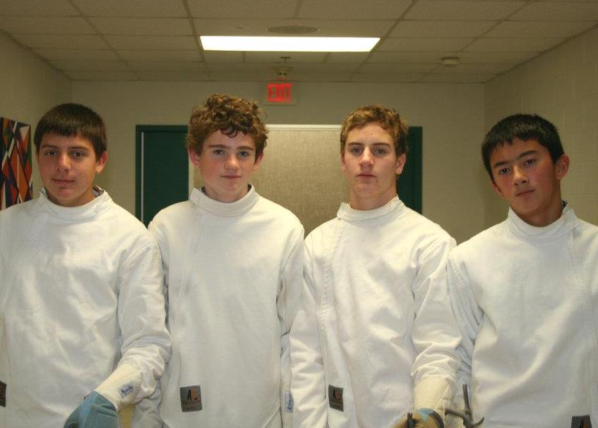 The+Morgan+Boys+2011+Fencing+Team