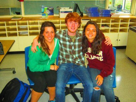 Emma Wentworth, Lucas Edwards and Becca Raab