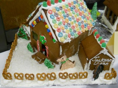 Morgan's Annual Gingerbread House Competition