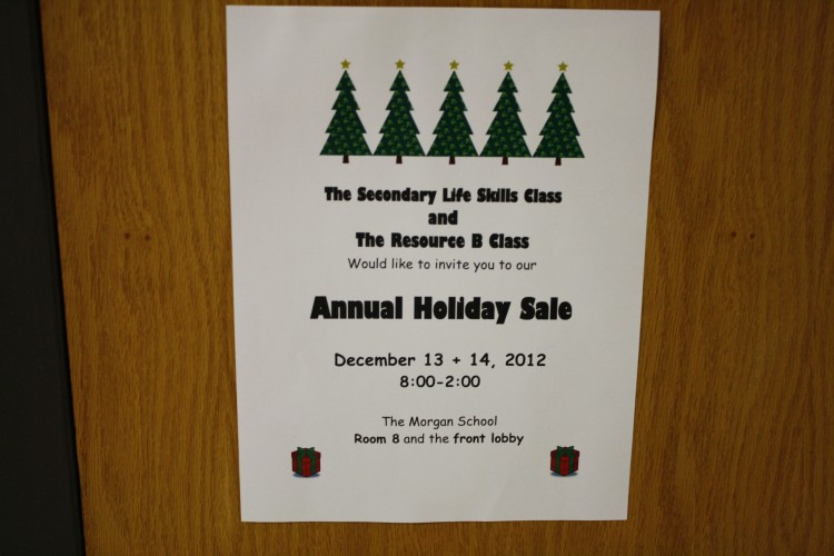 Holiday Craft Sale: December 13th and 14th