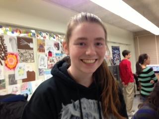 Freshman student, Amber Viulleumier