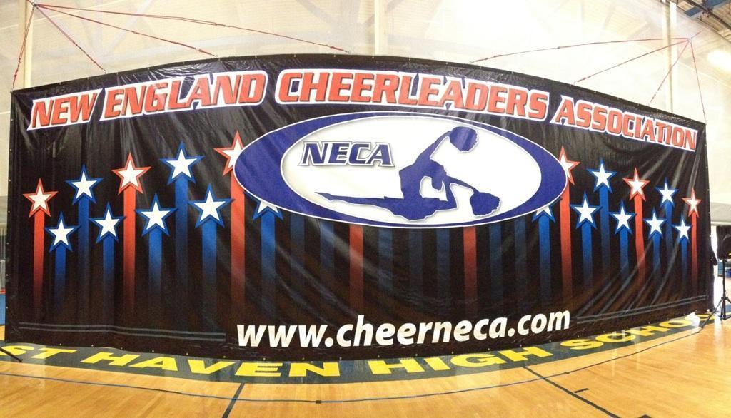 cheerleading banner
