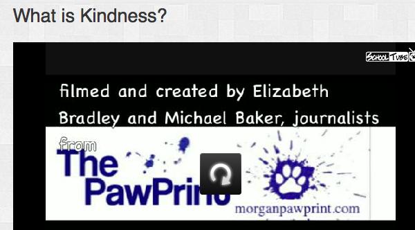 Morganpawprintkindnessvideo