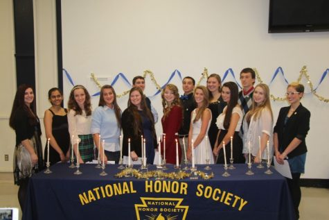 Congratulations NHS Inductees 2013!