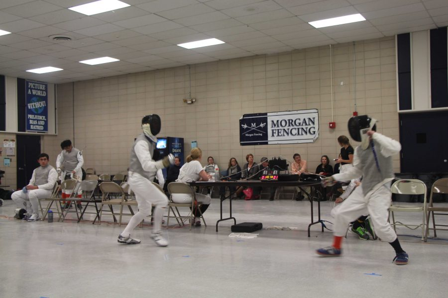 The+Morgan+Fencing+Tournament