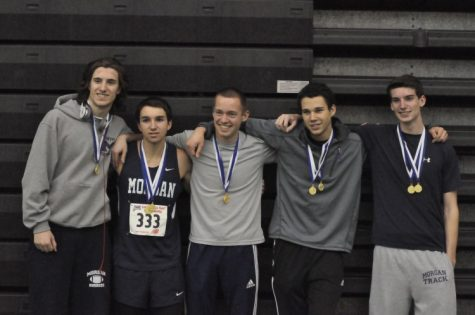 Boys 4x4 and Sprint Medley State Champions.