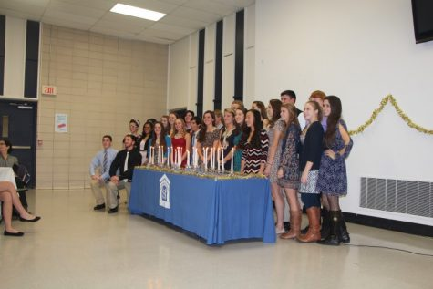 18 Inducted to the National Honor Society