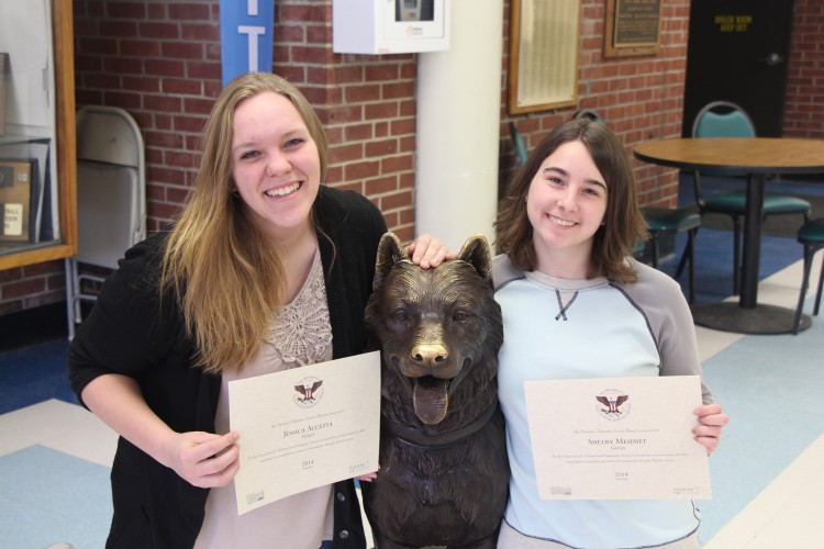Jess Accetta and Shelby Mehmet Receive President's Volunteer Service Award