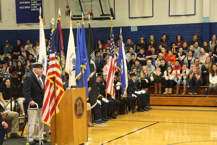 Veteran's Day at The Morgan School