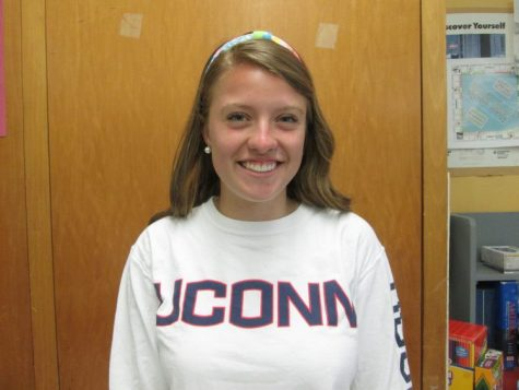 Meghan Lindsay- The University of Connecticut where she will be double majoring in Psycology and Physiology/Neurobiology. Meghan chose UCONN because of their beautiful campus, fantastic pre-med track, and their renowned and supportive student body.