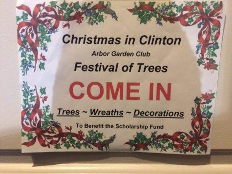 Clinton Celebrates the Holidays