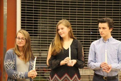 Katie Kozak, Ashlyn Harris, and Matt Beauvais