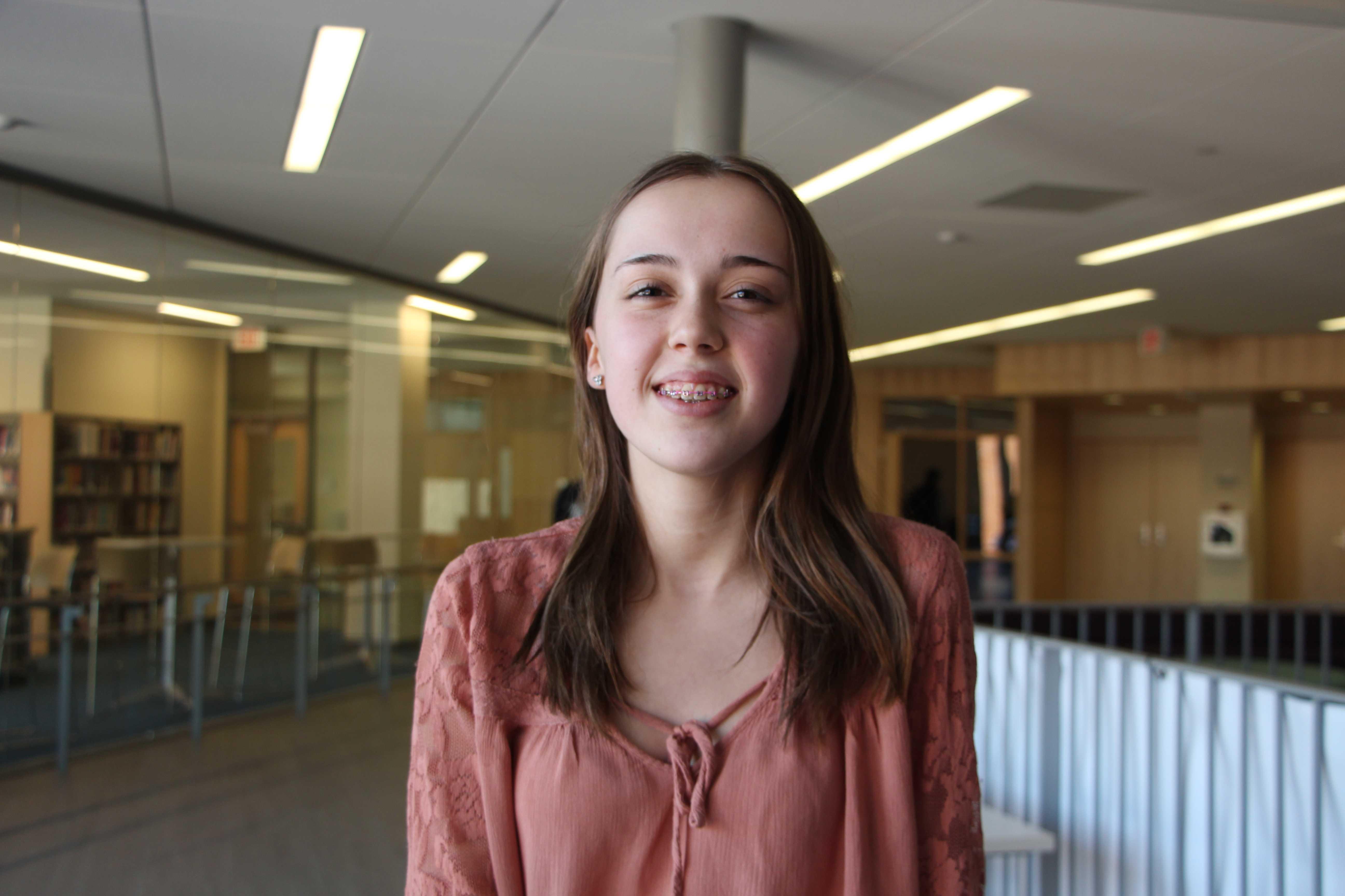 Freshman Emma Lehn