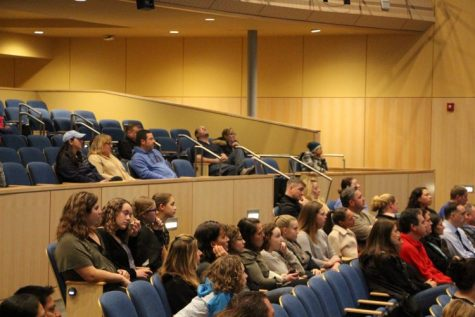 8th Grade Parents Learn About Opportunities at Morgan