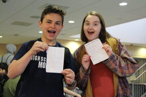 Logan Cummings and Haley Kells-Murphy