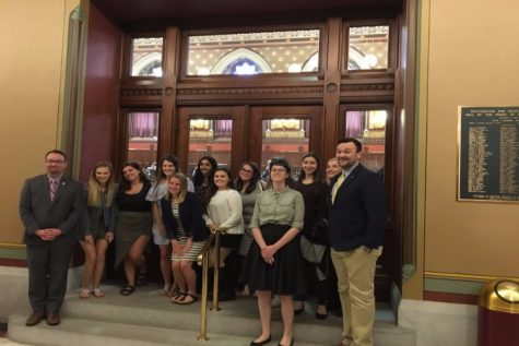 Morgan's REACT and Peer Advocates Head to the Capitol