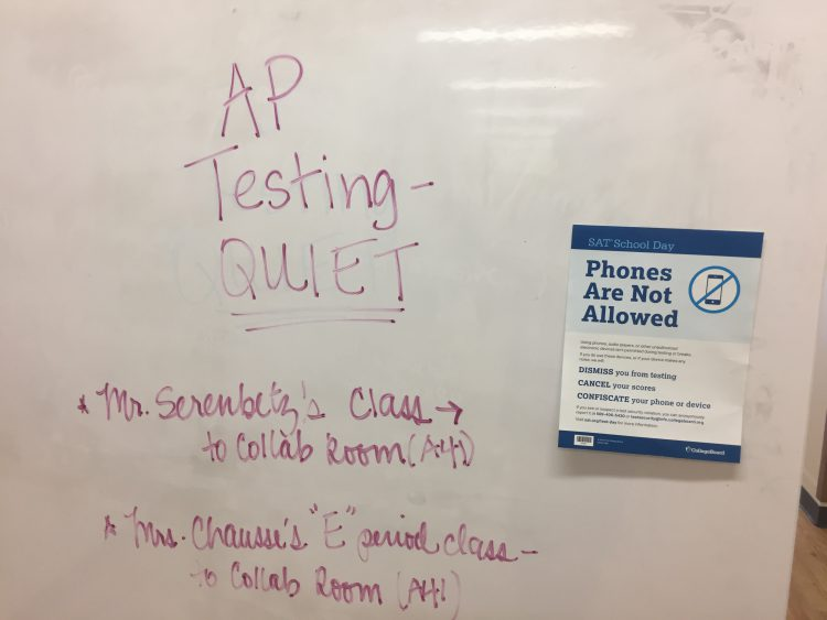 AP Testing Advice
