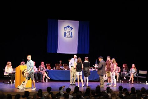 Underclassmen Honored at Awards Assembly