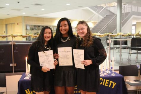 Morgan NHS Inducts 26 Hardworking Students