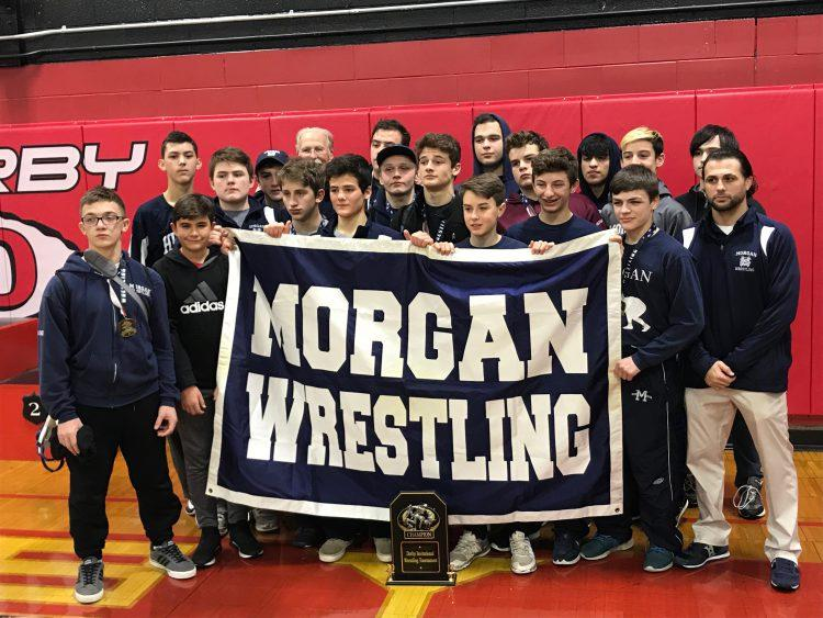 Morgan Wrestles Their Way to the Top