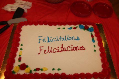 Felicitaciones y Bienvenue!