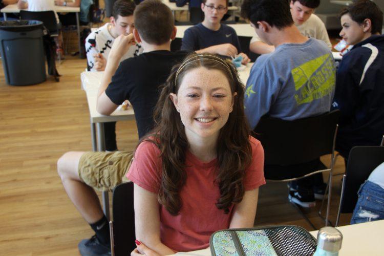 Sophomore Sarah Auletta