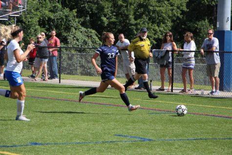Number 33 sophomore Carley Schmidt