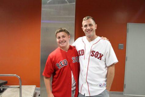 Mr. Gersz and Junior Logan Smth