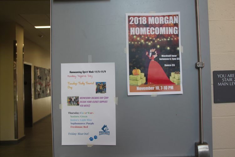 Homecoming Dance and Spirit Week Posters