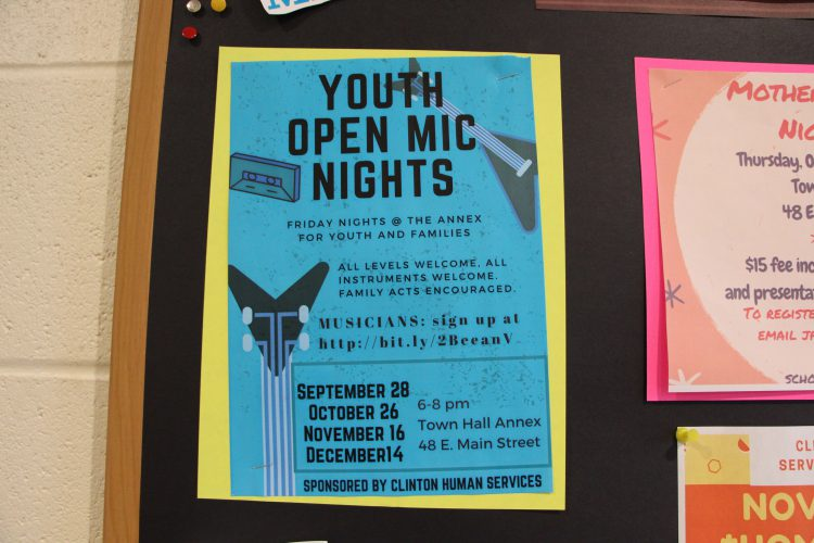 Human Services' Open Mic Night