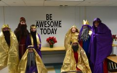 Three Kings Make Their Way To Joel School