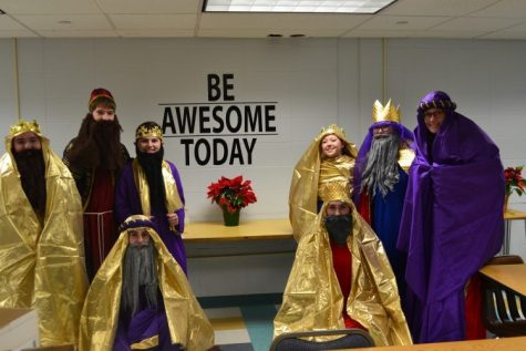 Three Kings Make Their Way To Joel School