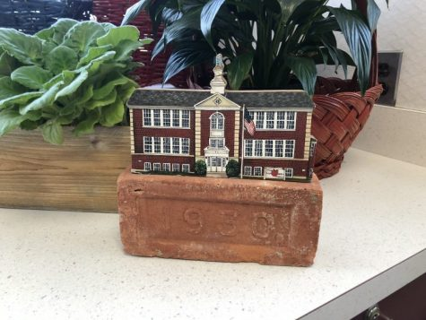 A brick from The Pierson School Gym