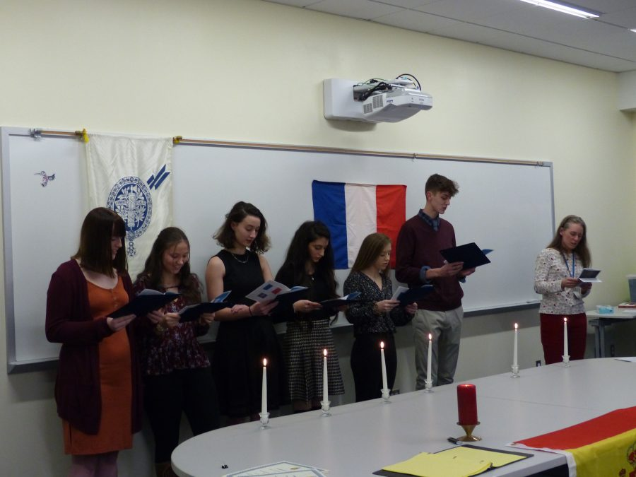 French and Spanish National Honor Society