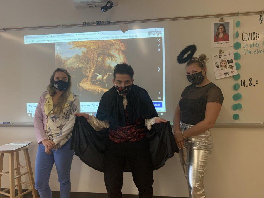 Mrs. Auger, Ciro Falanga, Bianca Arias