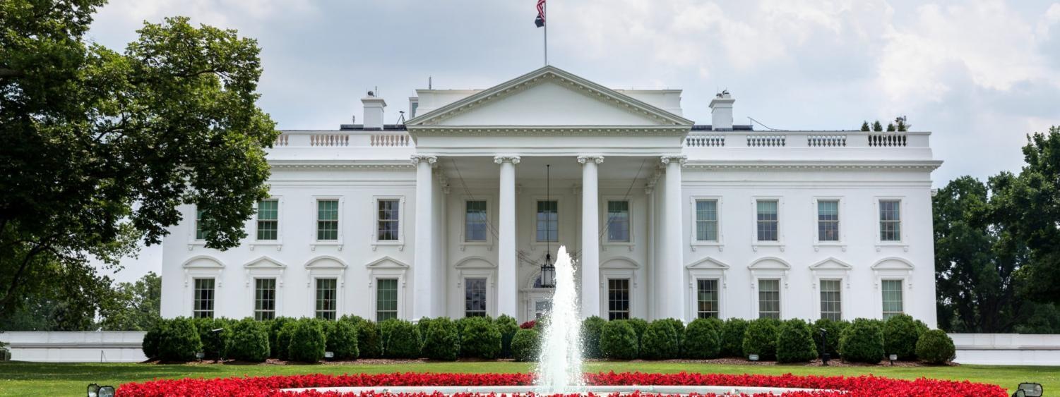 Front Entrance to White House