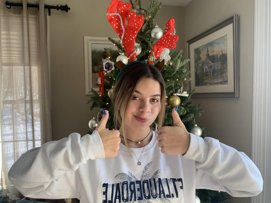 Julia Silver Holiday Hat