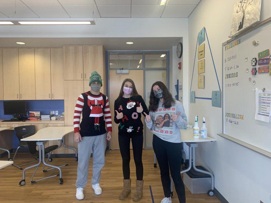Ryan Inglis, Abby Edyman, Clara Franzoni-Ugly Sweaters