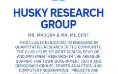 Morgan's Husky Research Group Helps Clinton