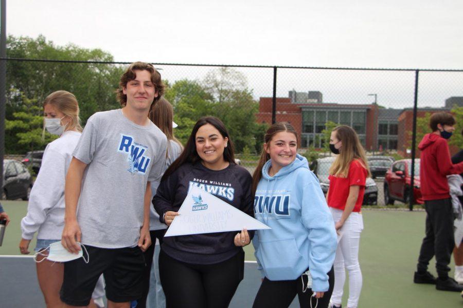 Mason Smith, Regean Franzoni, and Genna Rauccio