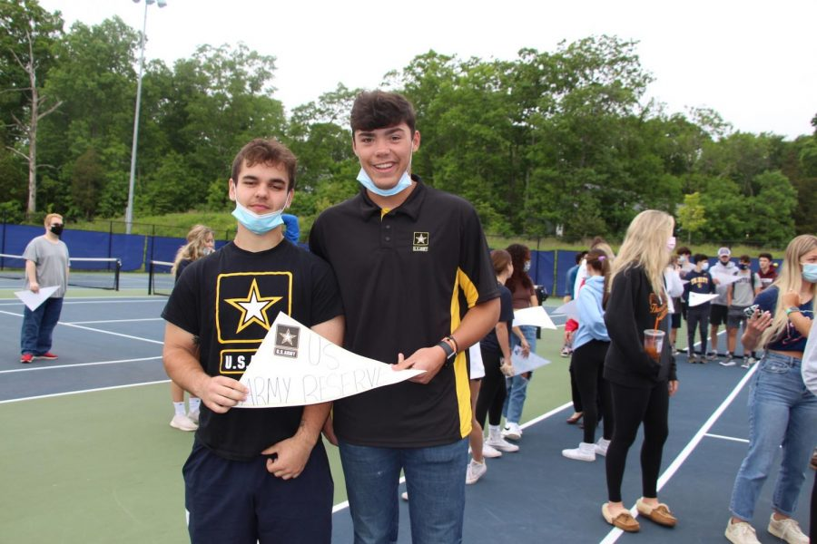 Andrew Beauchamp and Dominic Carpenter