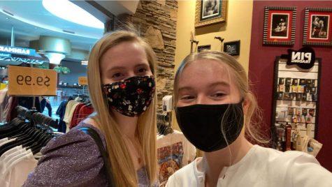 two siblings masked