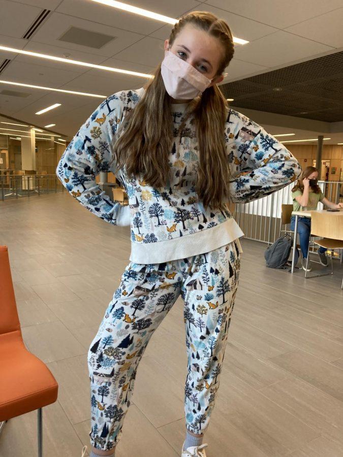 Alyssa Aiken Pajama Day